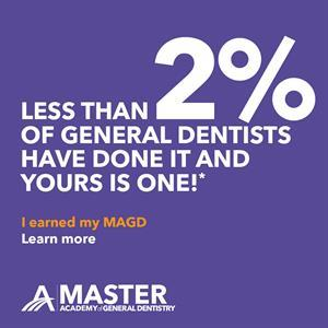 Dentist in CO certification for Master of Advanced and General Dentistry